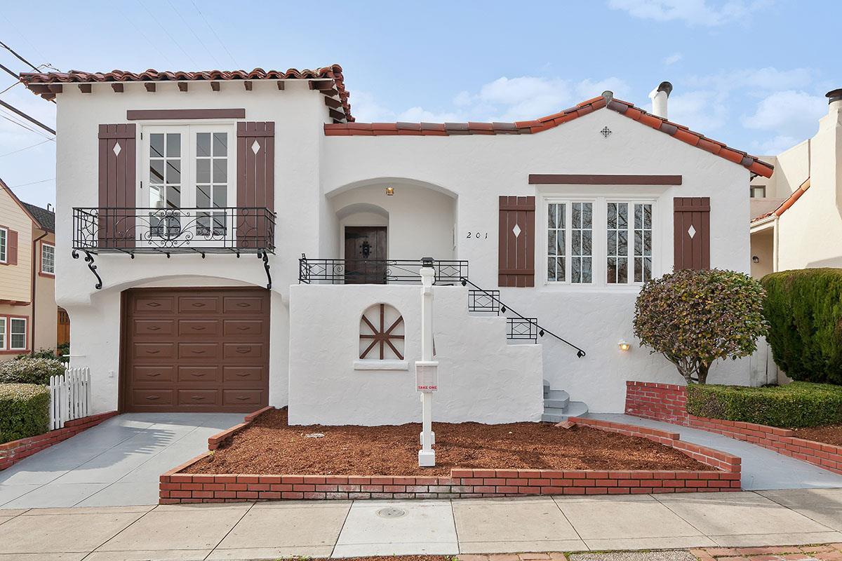 201 Palm Avenue, Millbrae, CA 94030