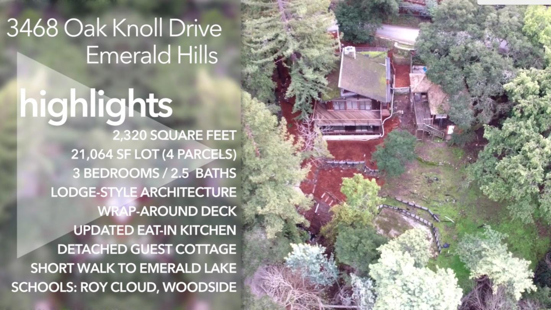3468 Oak Knoll Dr, Redwood City, CA