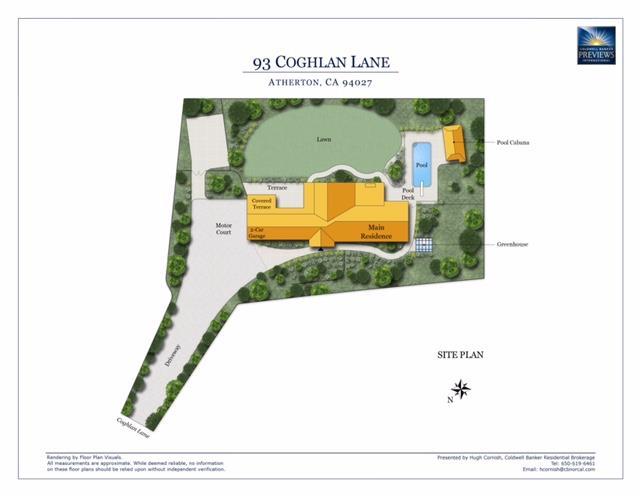 93 Coghlan Lane, Atherton, CA 94027