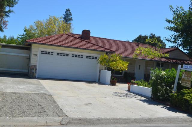 1390 Cordilleras Ave, Sunnyvale, CA 94087