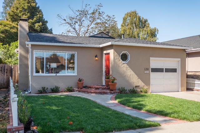 1358 Woodland Ave, San Carlos, CA 94070
