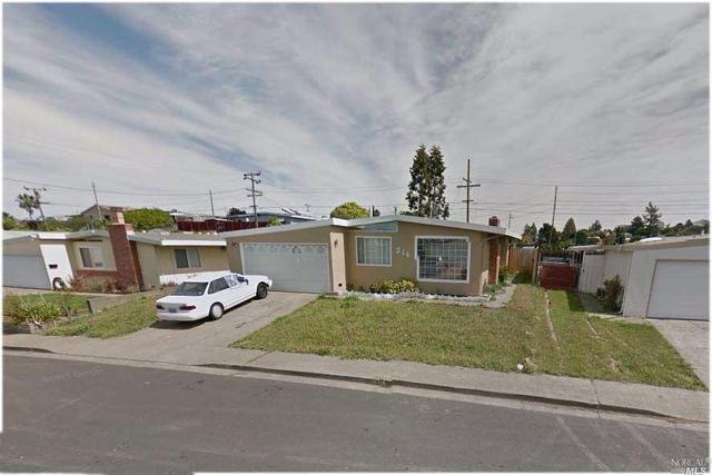 216 Cabrillo Ave, Vallejo, CA