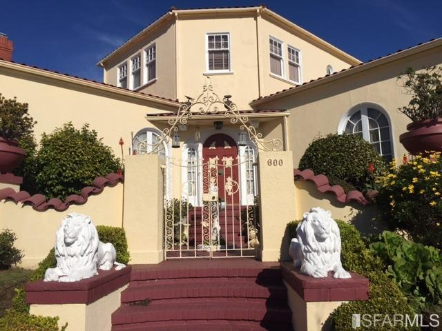600 Miramar Ave, San Francisco CA 94112
