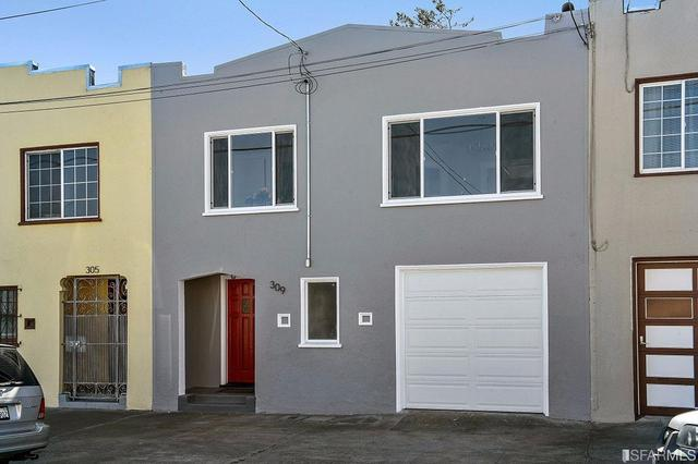 309 Hanover St, San Francisco, CA 94112
