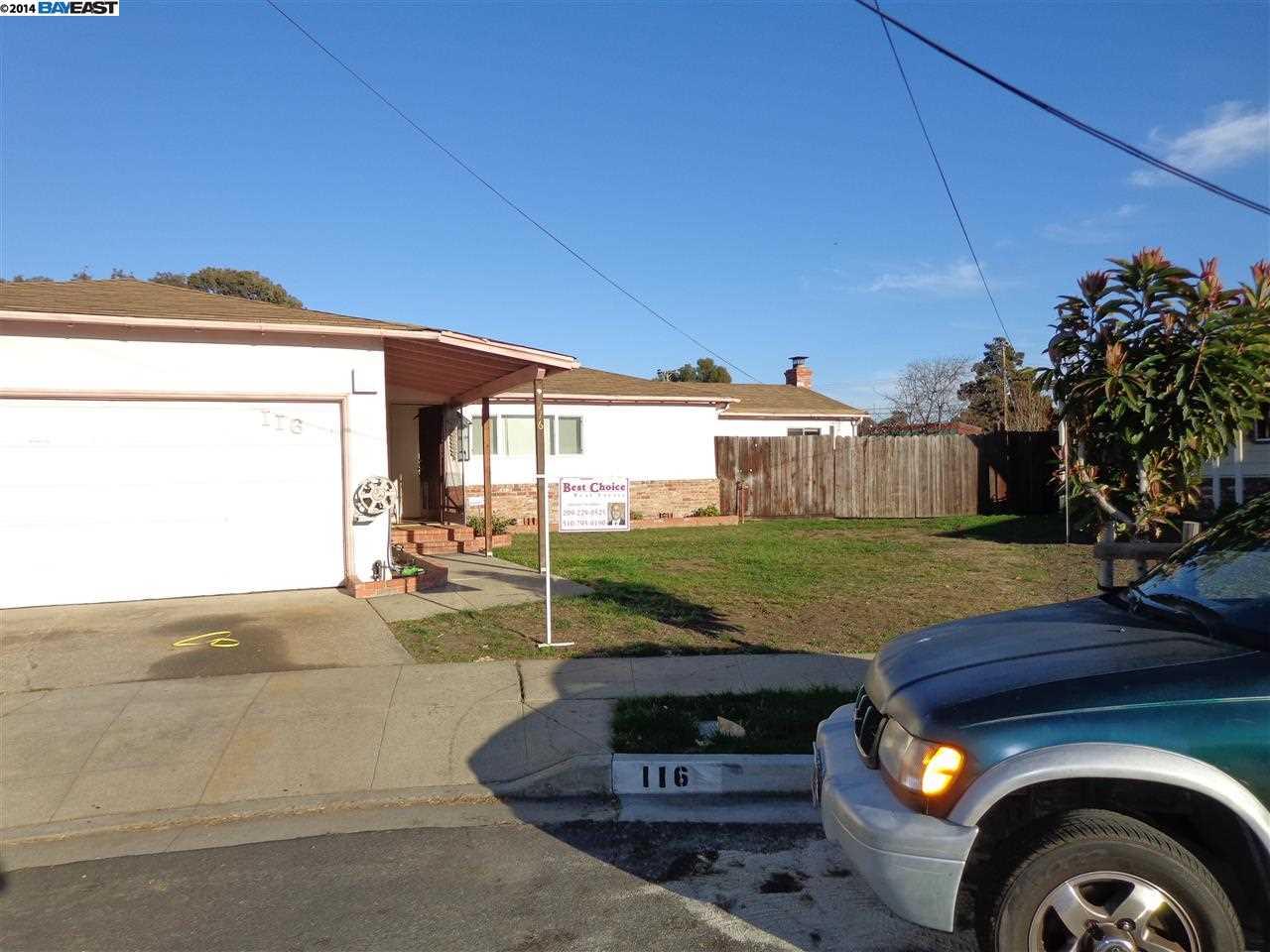 116 Hewitt Pl, Hayward, CA
