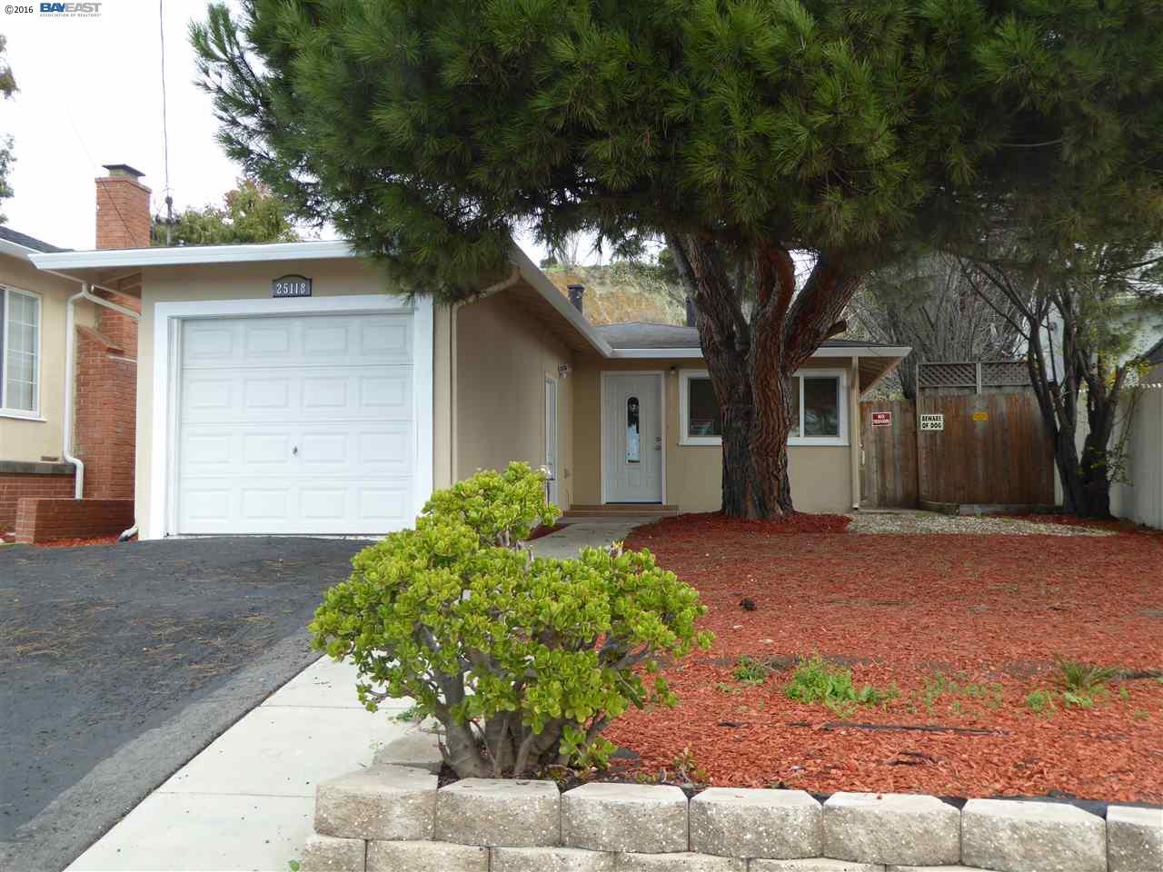 25118 Belmont Ave, Hayward, CA