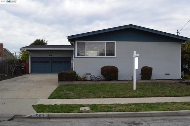 567 Elmhurst St, Hayward CA 94544