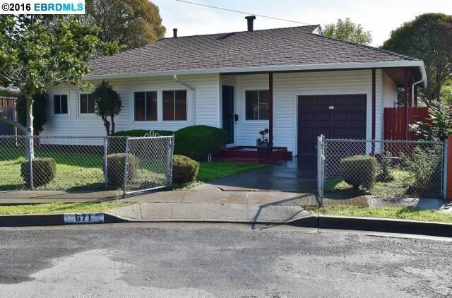 671 Laurette Pl, Hayward CA 94544