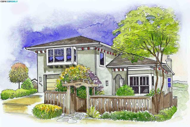1680 Grand View Dr, Berkeley CA 94705