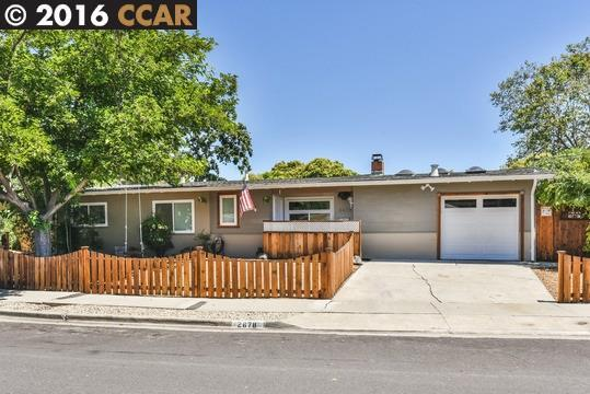 2678 Mayfair Ave, Concord CA 94520