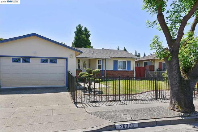 26324 Ventura Ave Hayward, CA 94544