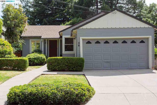 34 Lenox Rd Berkeley, CA 94707