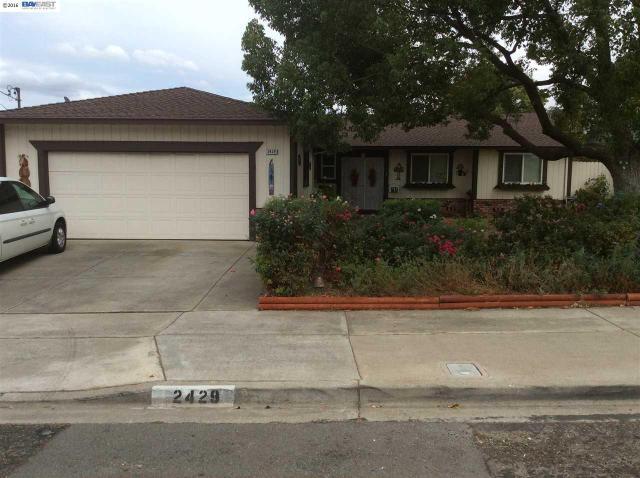 2429 Kendree St, Antioch, CA 94509