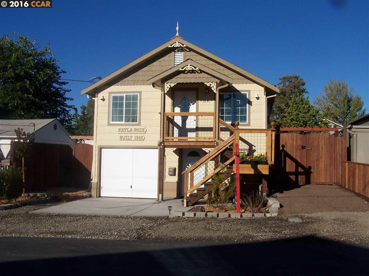1241 Santa Fe, Martinez, CA 94553