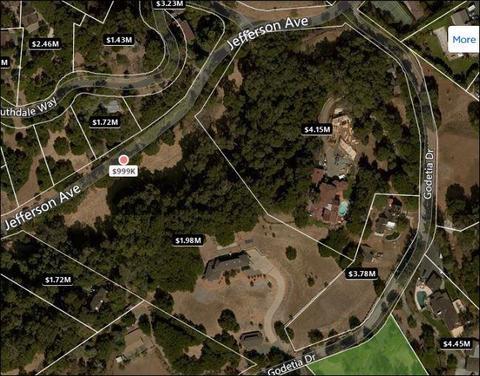 4219 Jefferson Ave, Woodside, CA 94062