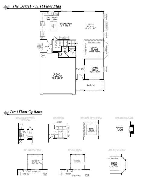 Plan Drexel 120 Hadleigh Dr Lexington Sc 29072 2 Photos Mls Q5vs2ajb33 Movoto