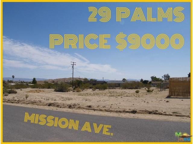 0 Mission Road, 29 Palms, CA 92277
