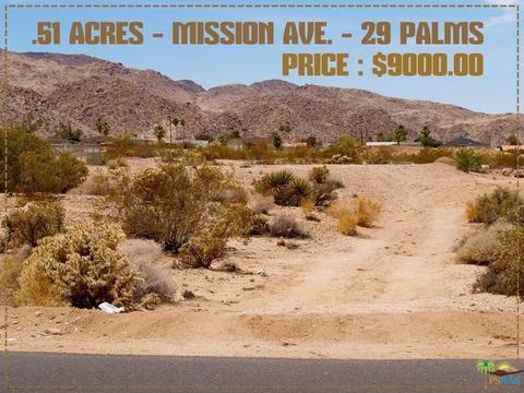 7020 Mission Avenue, 29 Palms, CA 92277