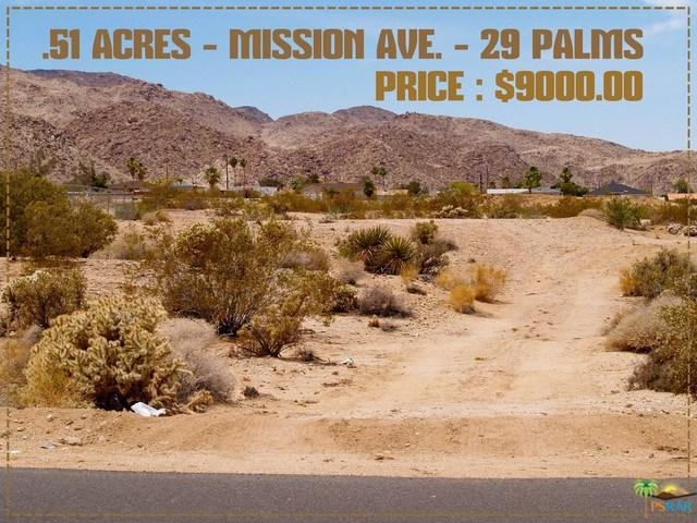 7020 Mission Avenue, 29 Palms, CA 92277