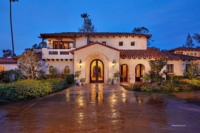5856 Lago Lindo, Rancho Santa Fe, CA 92067