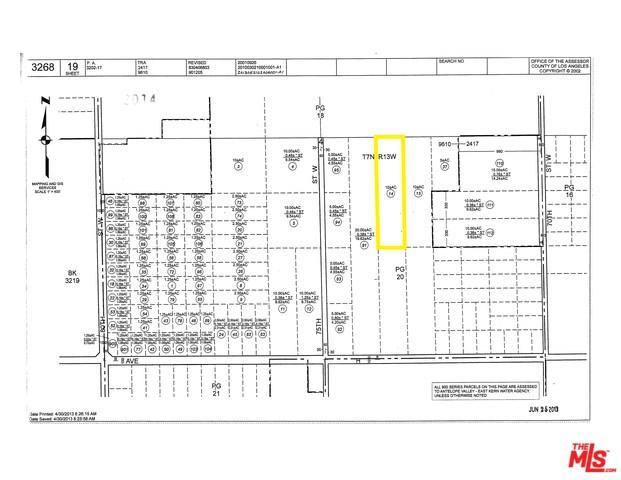 0 Vacvic Avenue G875 Stw, Lancaster, CA 93536