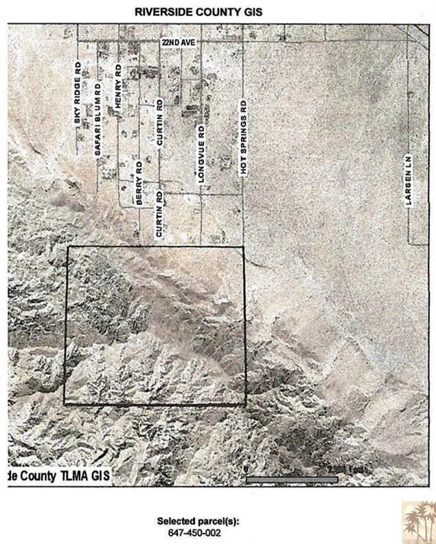 Vacant Land, Sky Valley, CA 92240