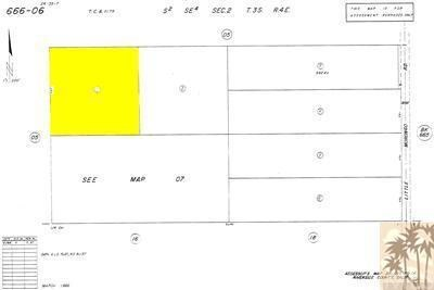 10 Acres Off Little Morongo, Desert Hot Springs, CA 92240