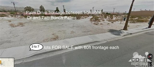 Commercial Lots Palm Drive, Desert Hot Springs, CA 92240