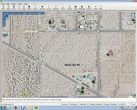 Hatch And Datura Road, 29 Palms, CA 92277