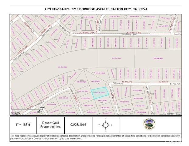 2221 Lot 9 -castillo Avenue, Thermal, CA 92274