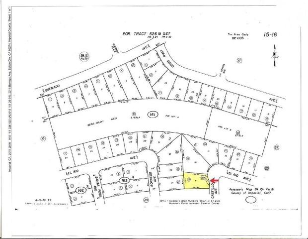 2221 Lot 9 -castillo Ave, Thermal, CA 92274