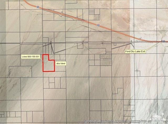 199 54 Acres Ford Dry Lk, Desert Center, CA 92239