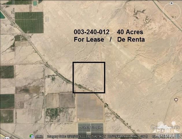 Gas Line Rd, Niland, CA 92227