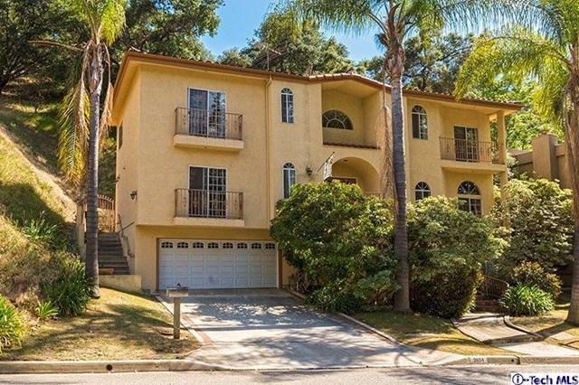 2804 Glenoaks Canyon Dr, Glendale, CA