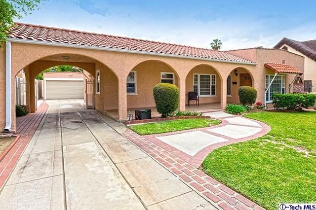 1358 Justin Ave, Glendale CA 91201