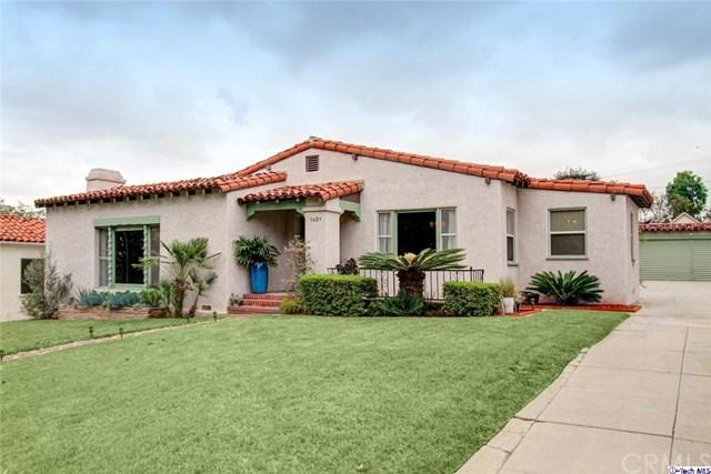 1421 Hillcrest Ave Glendale, CA 91202