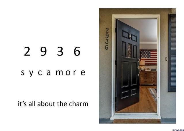 2936 Sycamore Ave, La Crescenta, CA 91214