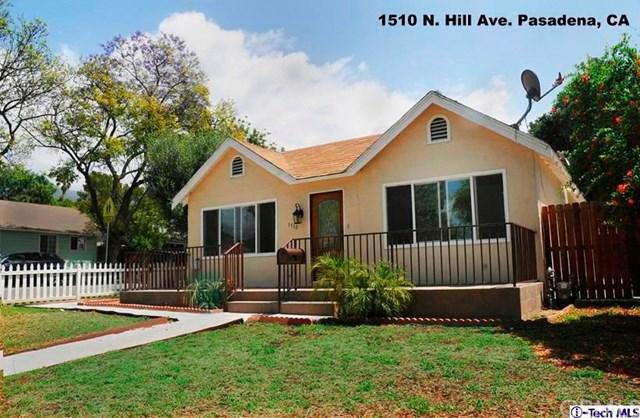 1510 N Hill Ave, Pasadena, CA 91104