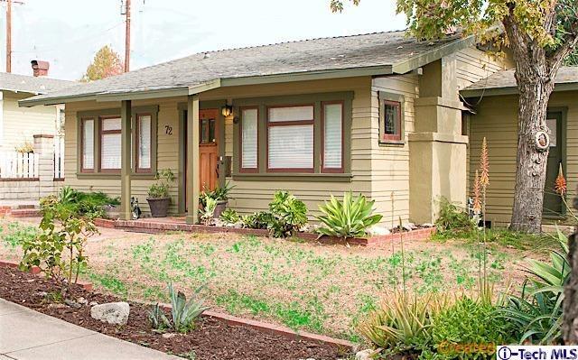72 S Hermosa Avenue, Sierra Madre, CA 91024