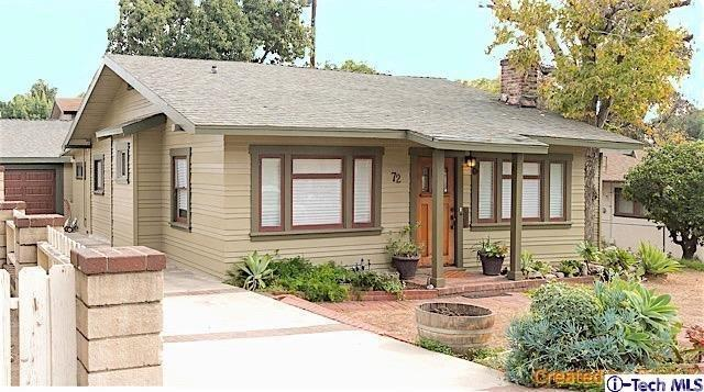 72 S Hermosa Ave, Sierra Madre, CA 91024
