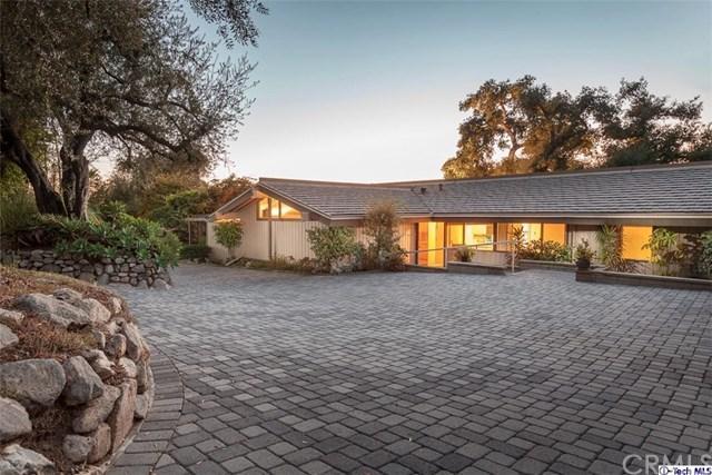 1625 Kinneloa Mesa Rd, Pasadena, CA 91107