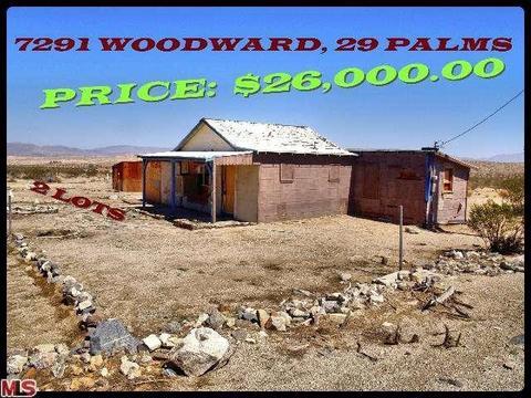 7291 Woodward Avenue, 29 Palms, CA 92277