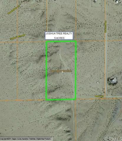 0 Mesa Rd, 29 Palms, CA 92277