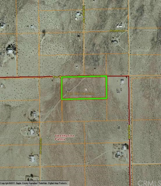 0 Two Mile Road, 29 Palms, CA 92277