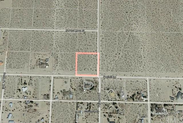 0 Foothill Rd, Lucerne Valley, CA 92356