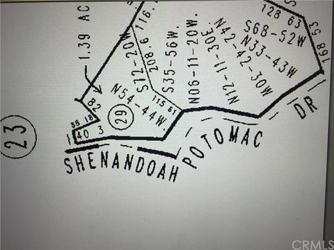 0 Shenandoah, Lake Arrowhead, CA 92352