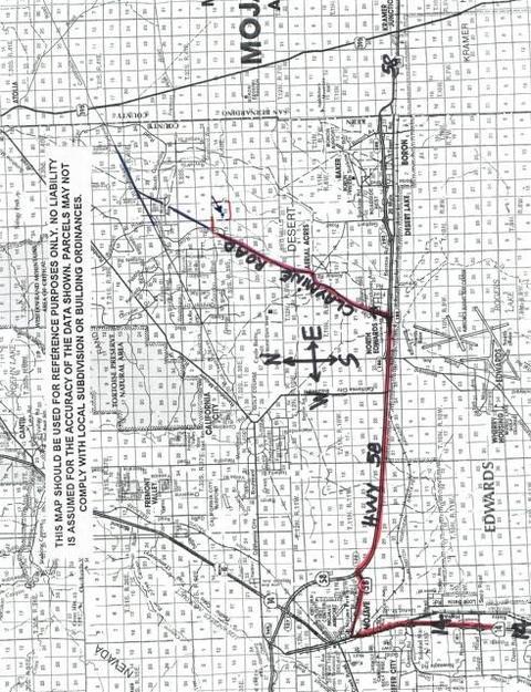 0 Near Claymine Road, Unincorporated, CA 93560
