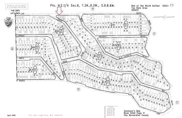 0 Line Dr, Lake Arrowhead, CA 92352