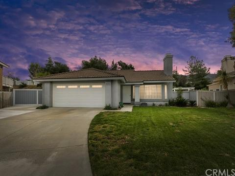 Homes for sale in south corona ca