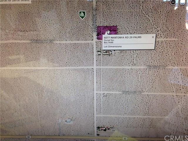 0 Montoya Road, 29 Palms, CA